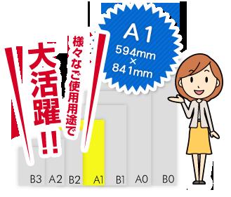 A1サイズは様々なご使用用途で大活躍!