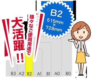 B0サイズは様々なご使用用途で大活躍!